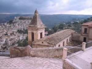Ragusa Ibla landscape